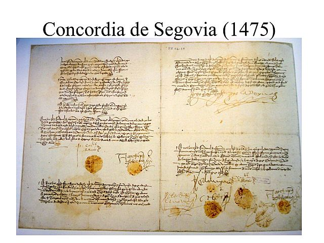 Tratado de Segovia