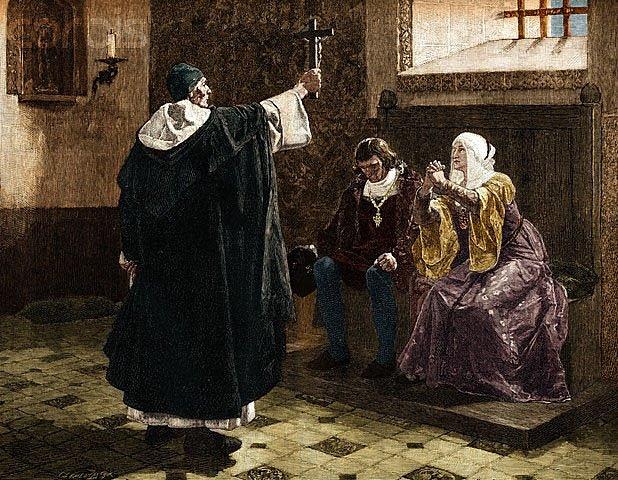 Formación de la Inquisición.