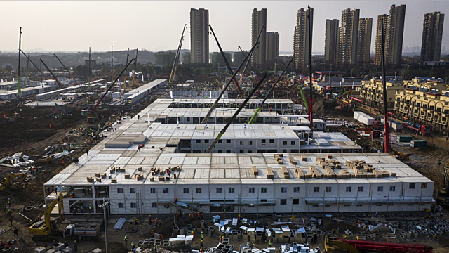 Global Response: China Builds Hospital to Treat Patients