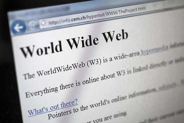 Первый в мире веб-сайт