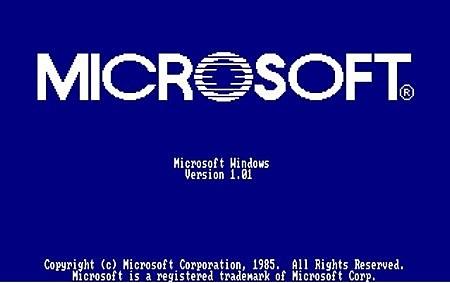 Anuncian Lanzamiento de Windows 1.0
