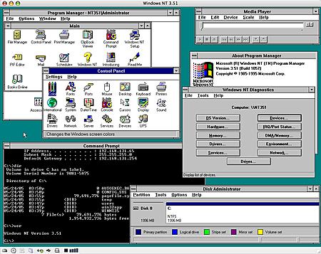 Windows NT  (New Technology)