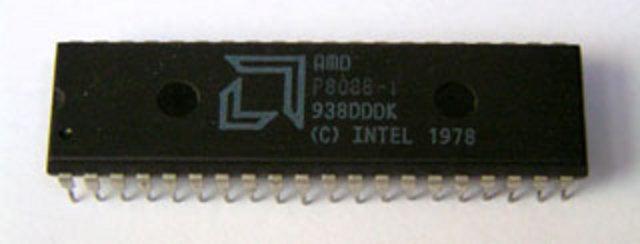 AMD devient le 1er licencié de l'architecture x86 et lance l'AM8088