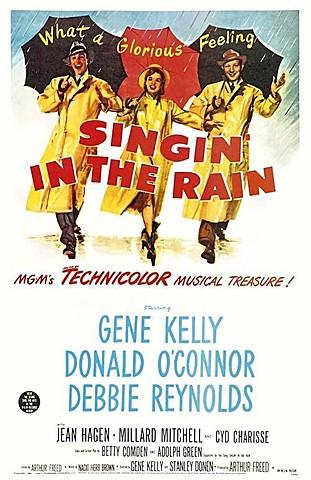 """""""Singin In The Rain"""" (CANTANDO BAJO LA LLUVIA)"""