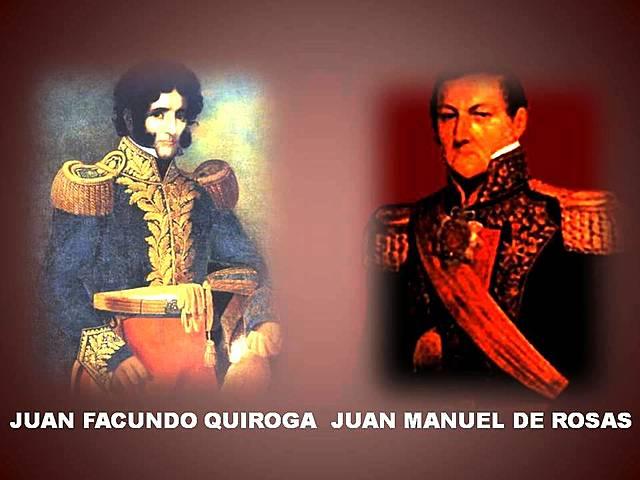 Triunfo del federalismo encabezado por Juan Manuel de Rosas
