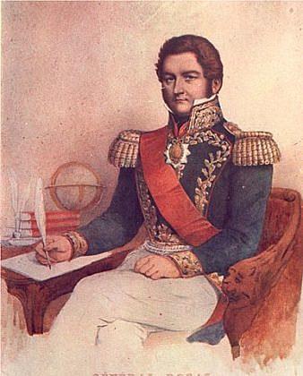 Juan Manuel de Rosas ejerce como gobernador de buenos aires