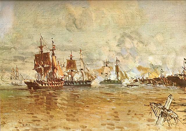 Juan Manuel de Rosas hace frente al bloqueo de la armada francesa y al enfrentamiento de la confederación Peru-Bolivia