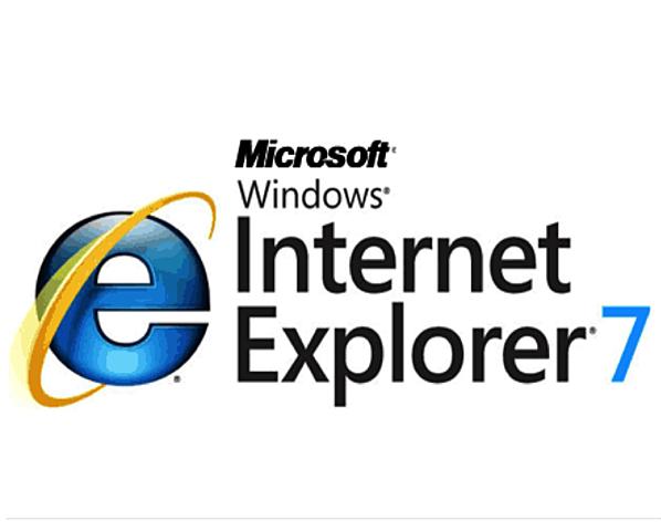 Aparece Internet Explorer 7.0