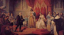 Los Reyes Católicos y el descubrimiento y conquista de América timeline