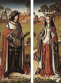 Subida al trono de Juana I y Felipe de Austria