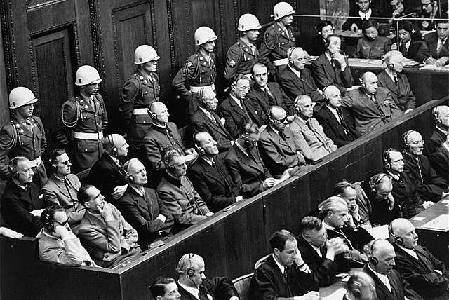 Opening of the Nuremberg International Military Tribunal