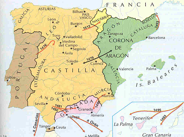 Unión dinástica de la corona de Aragón y Castilla