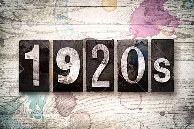 DÉCADA AÑOS 20 (1.920 - 1.929)