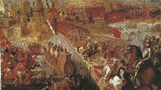 Conquista imperio azteca