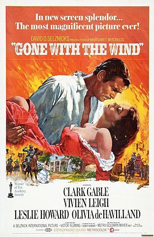 """""""Gone with the Wind"""" (LO QUE EL VIENTO SE LLEVÓ)"""