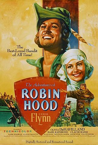 """The Adventures of Robin Hood"" (LAS AVENTURAS DE ROBIN HOOD)"