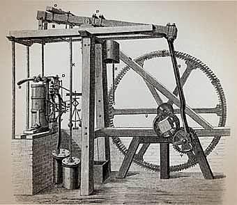 Watt Patents Steam Engine