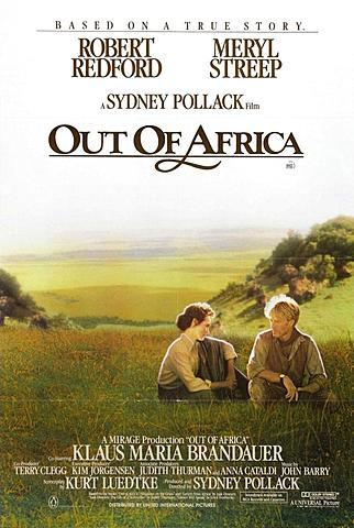 """""""Out of Africa"""" (MEMORIAS DE ÁFRICA)"""