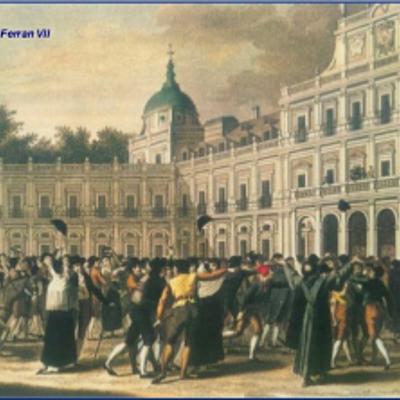 Fets històrics de l'Espanya el Segle XIX timeline