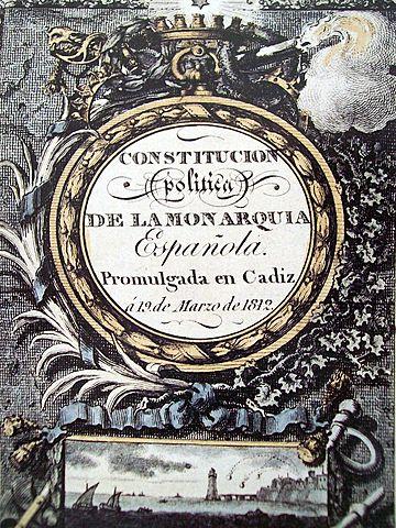3. Constitució de Cadis (1812)