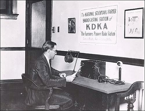 The first Broadcast