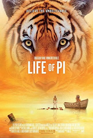 """""""Life of Pi"""" (LA VIDA DE PI)"""