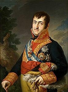 Ferran VII torna a Espanya