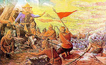 สงครามเก้าทัพกับพม่า