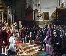 Firma de la Pragmàtica Sanció i Isable II és nomenada hereva del tron
