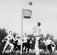 Basketball was created