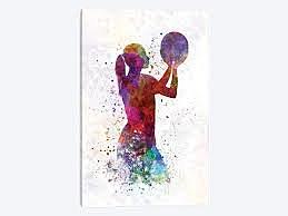 Women basketball was created