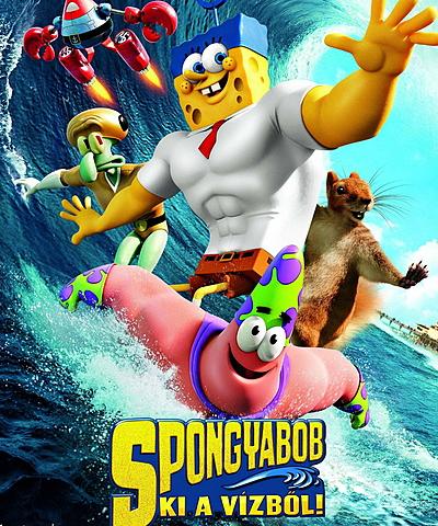 Spongyabob - Ki a vízből!