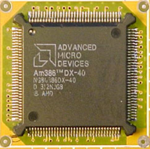 AMD lance l'AM386