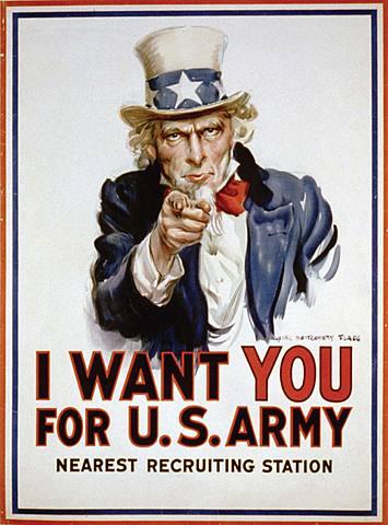 United States enters World War 1