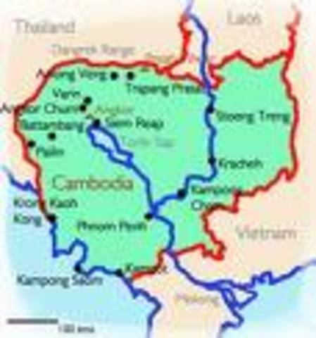 President Nixon stuns Americans by announcing a U.S. and South Vietnamese incursion into Cambodia