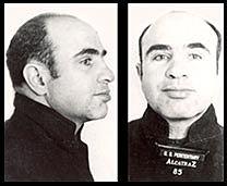 Al Capone is caught