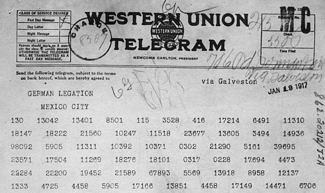 Zimmerman Telegram