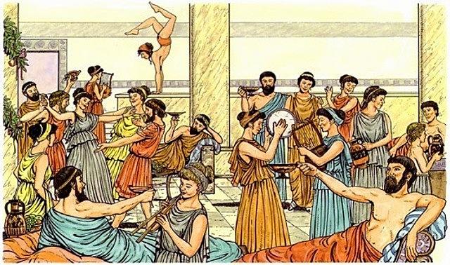 Ocio  la Edad Antigua