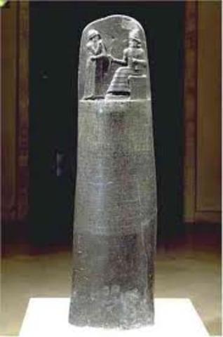 CODIGO DE HAMMURABI 1700 AC