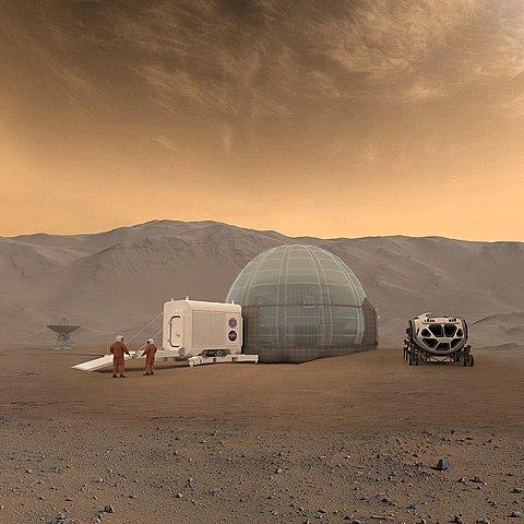 First Mars signal