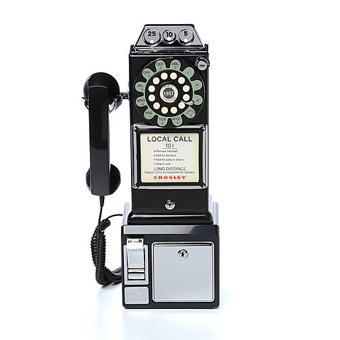 The First coin Operated Telephone