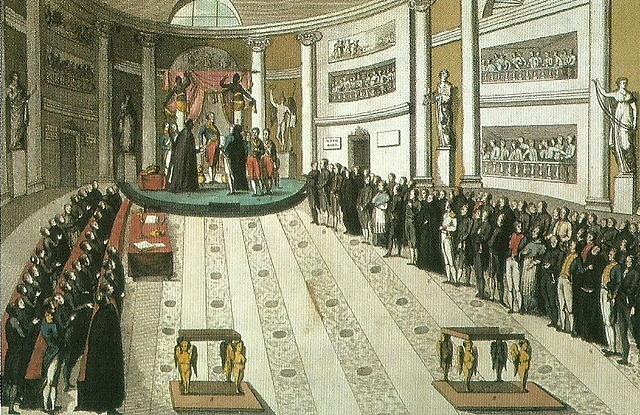 Ferran VII jura la Consitució