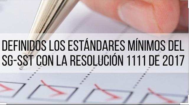 Resolución 1111 de 2017