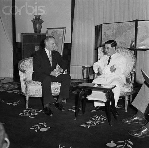 JFK and Ngo Dinh Diem meet