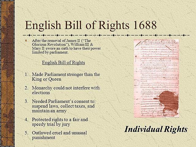 EL BILL OF RIGHTS