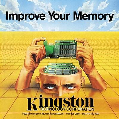 La memoria RAM Kingston timeline
