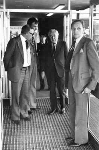 Harold Wilson becomes MP for Huyton (until 1983)