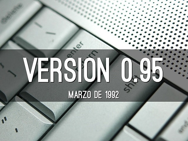 Linux 0.95 (serie 0.X)