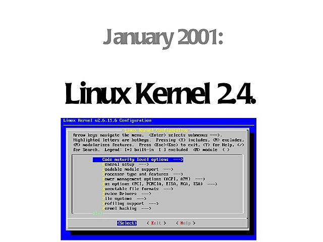 Linux 2.4 (serie 2.X)