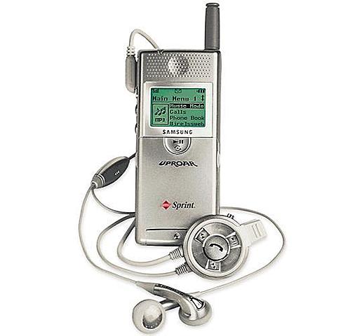 El primer teléfono con MP3